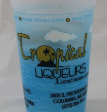 20oz Trops Plastic Cup (Set of 4)